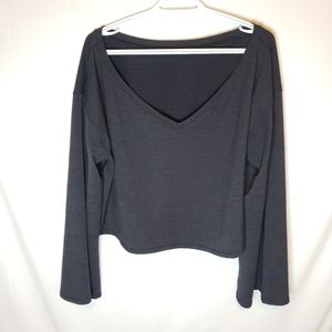 Lululemon Show Your Depth Long Sleeve sweatshirt M/L bell sleeves!